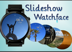 Sliedeshow Watchface für Android Wear